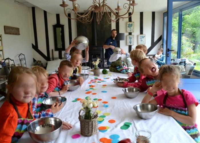 chambre hôtes honfleur atelier cuisine