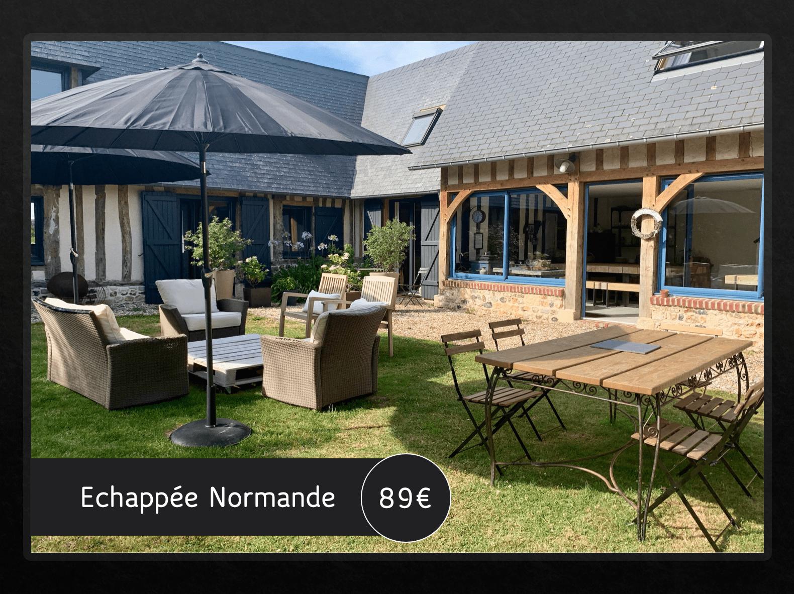 Echapée Normande 89 euros